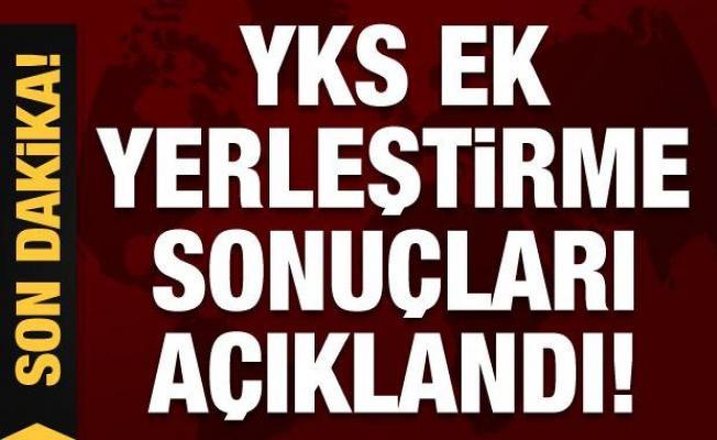 Son Dakika: YKS ek yerleştirme sonuçları açıklandı!