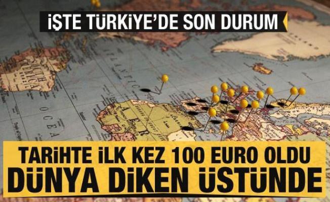 Tarihte ilk kez fiyatı 100 euroyu geçti! Tüm dünya diken üstünde... İşte Türkiye'de son durum