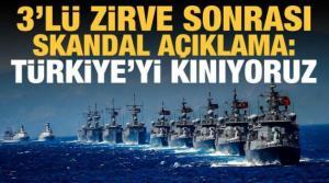 Sisi ve Anastasiadis'i ağırlayan Miçotakis'ten açıklama: Türkiye'yi kınıyoruz