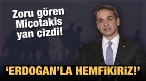 Yunanistan Başbakanı Miçotakis'ten Türkiye açıklaması: Erdoğan'la hemfikiriz!