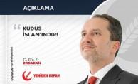 KUDÜS İSLAM'INDIR!