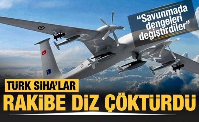 Türk SİHA'ları İsrail'in kabusu oldu: Diz çöktüler