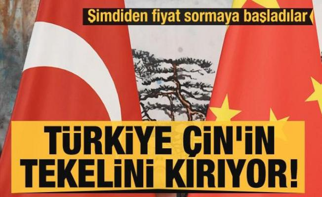 Türkiye Çin'in tekelini kırıyor! Şimdiden fiyat sormaya başladılar