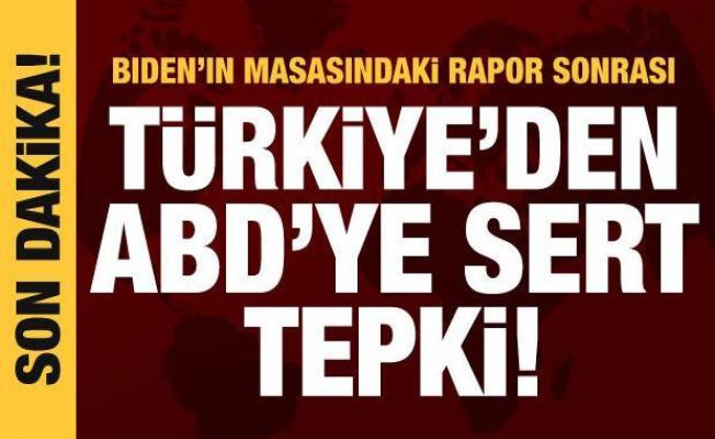 Türkiye'den ABD'ye Bozkurtlar/Ülkü Ocakları tepkisi!