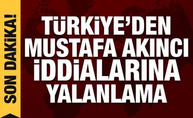 Türkiye'den Mustafa Akıncı iddialarına yalanlama