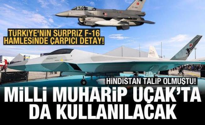 Türkiye'nin sürpriz F-16 hamlesinde çarpıcı Milli Muharip Uçak detayı